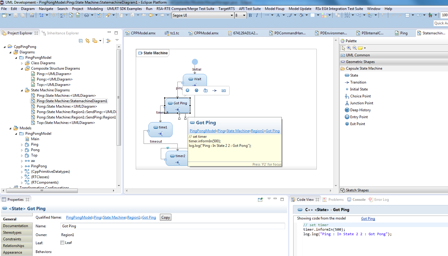 Rational Software Architect Real-time Edition