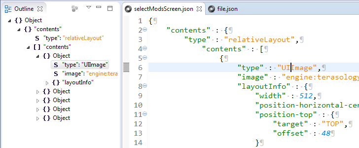 JSON Editor Plugin | Eclipse Plugins, Bundles and Products