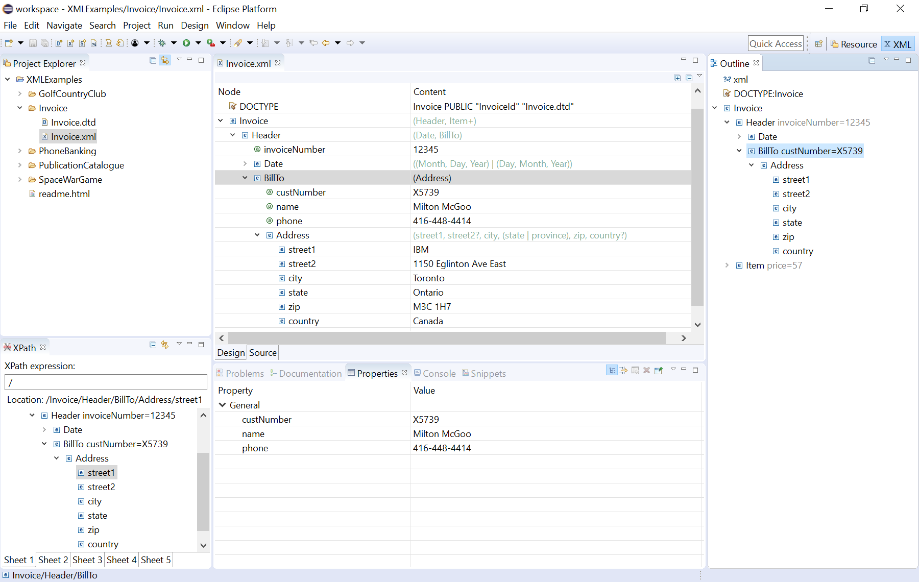 Eclipse XML Editors and Tools | Eclipse Plugins, Bundles and