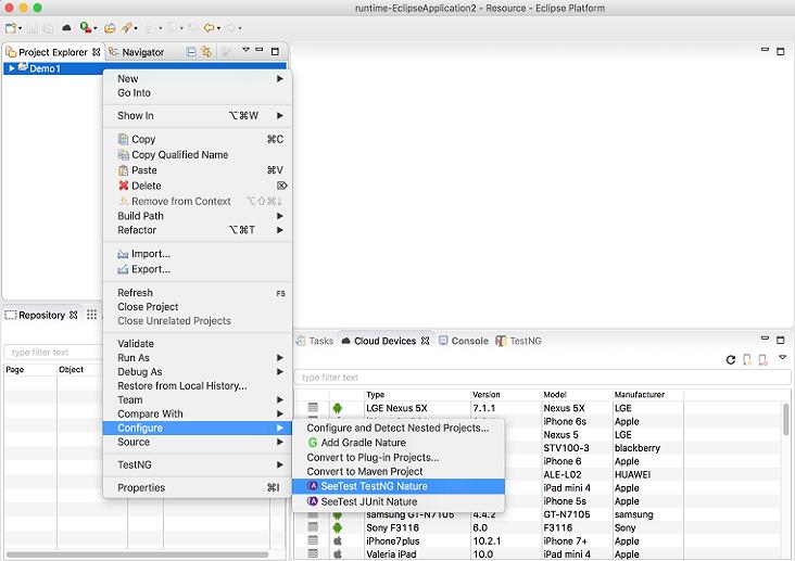 Appium Studio for Eclipse   Eclipse Plugins, Bundles and