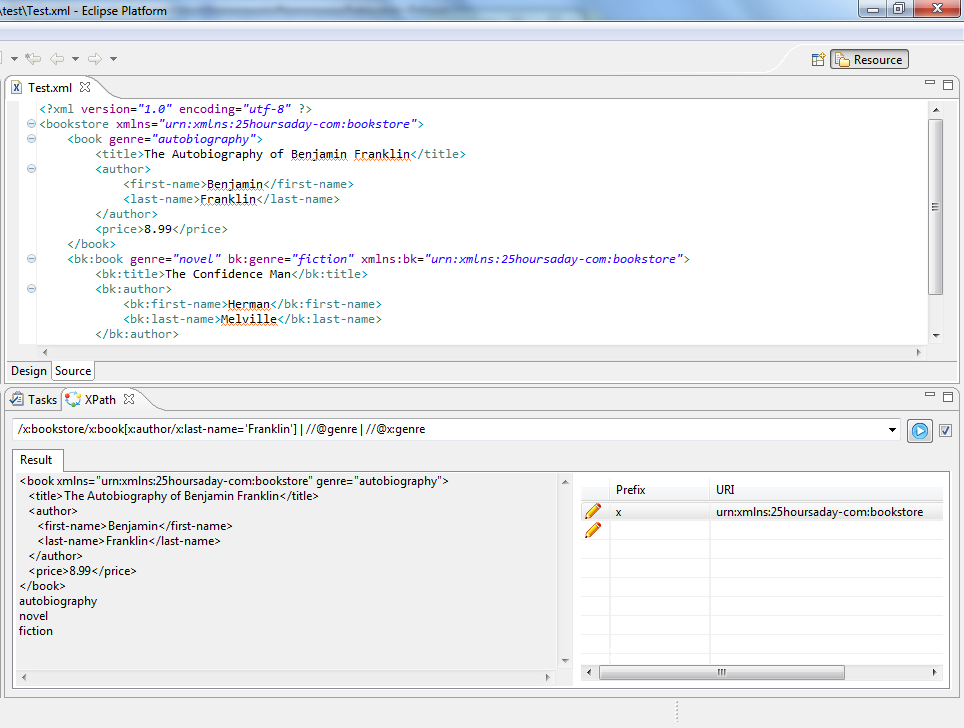 Eclipse XPath evaluation plugin | Eclipse Plugins, Bundles