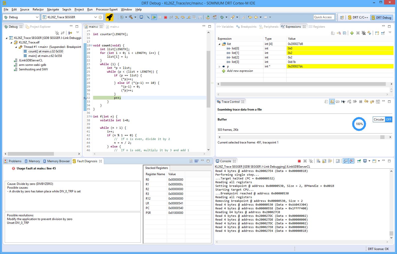 SOMNIUM DRT Cortex-M IDE | Eclipse Plugins, Bundles and Products