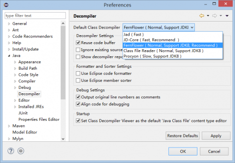 Enhanced Class Decompiler | Eclipse Plugins, Bundles and