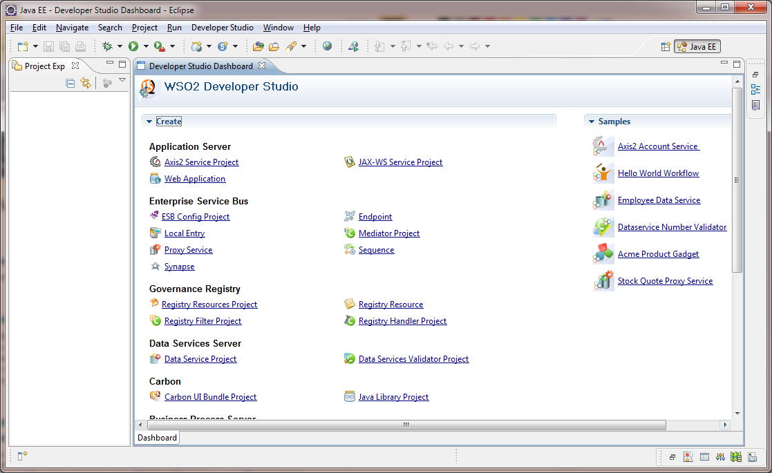 WSO2 Developer Studio | Eclipse Plugins, Bundles and