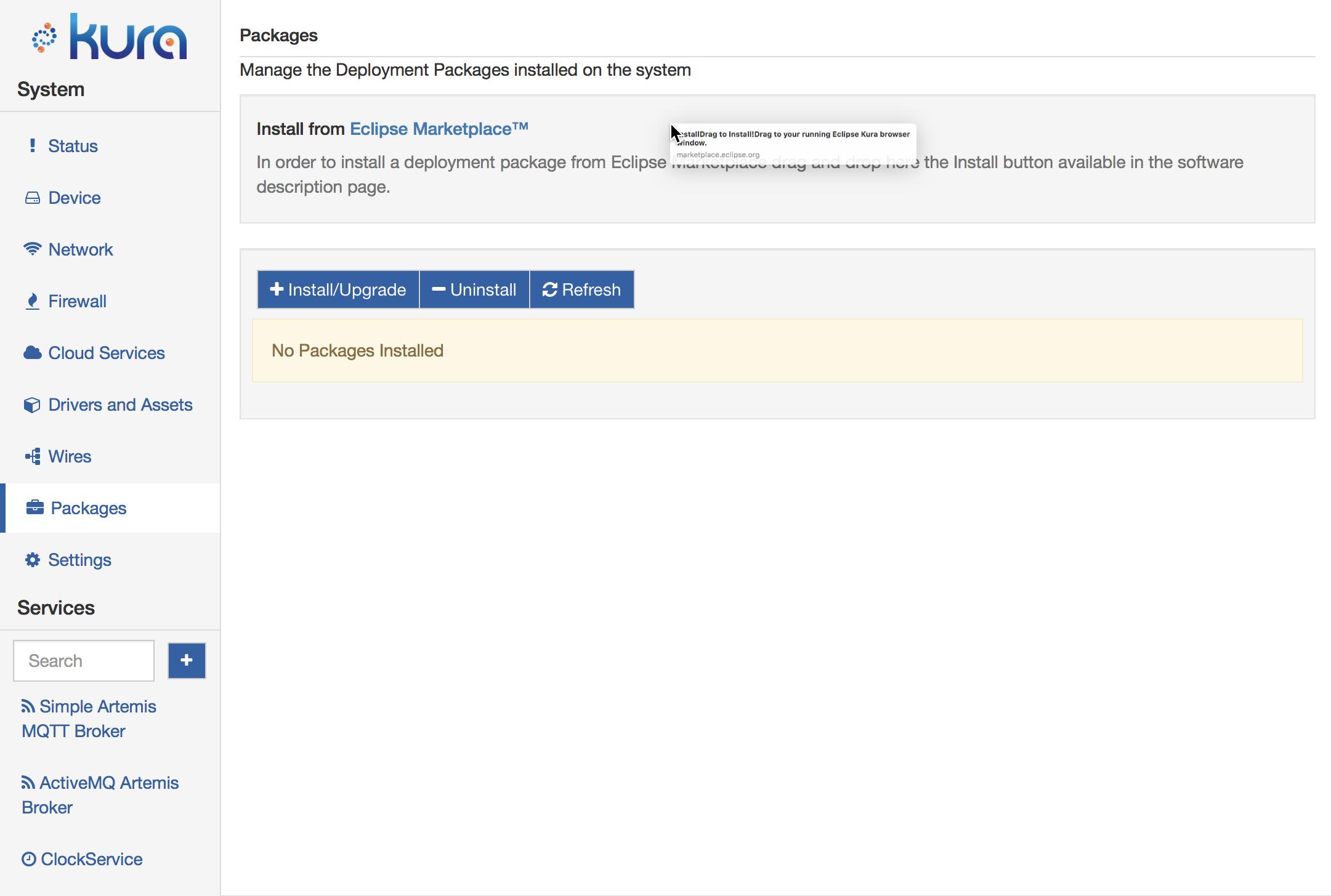 Modbus Protocol Implementation for Eclipse Kura 3 x y