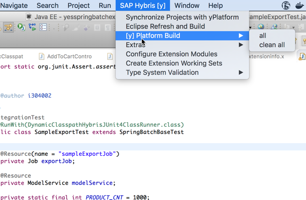 SAP Hybris Commerce Development Tools for Eclipse | Eclipse Plugins