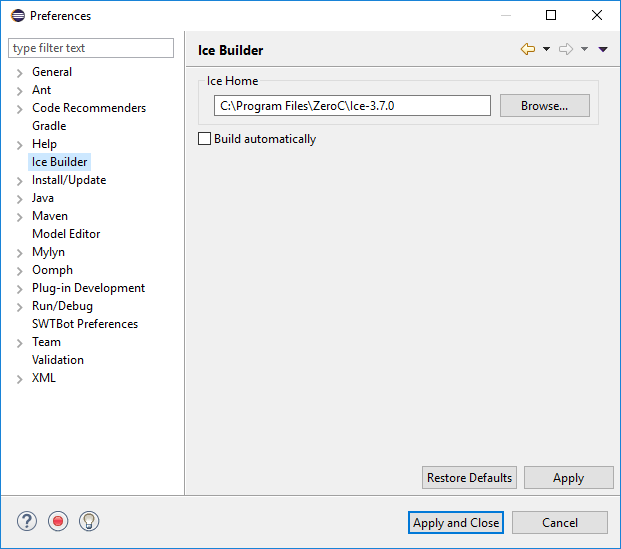 Ice Builder for Eclipse | Eclipse Plugins, Bundles and