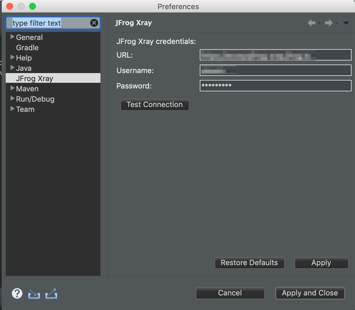 jfrog-eclipse-plugin   Eclipse Plugins, Bundles and Products
