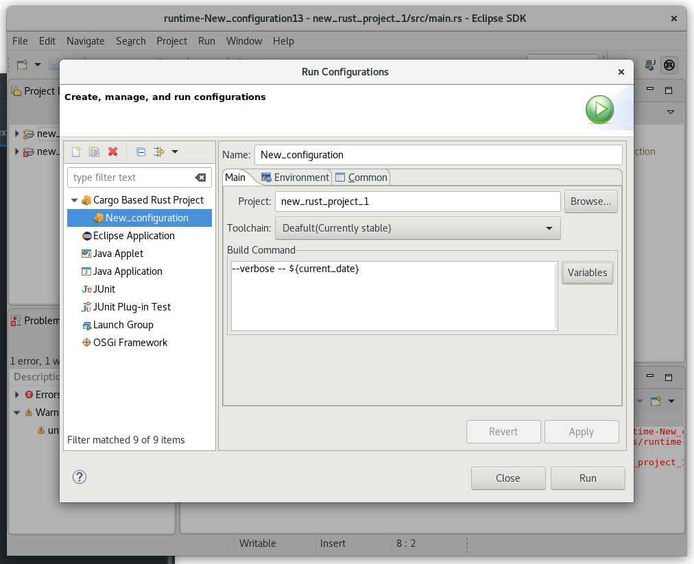 Eclipse Corrosion: Rust edition and debug | Eclipse Plugins