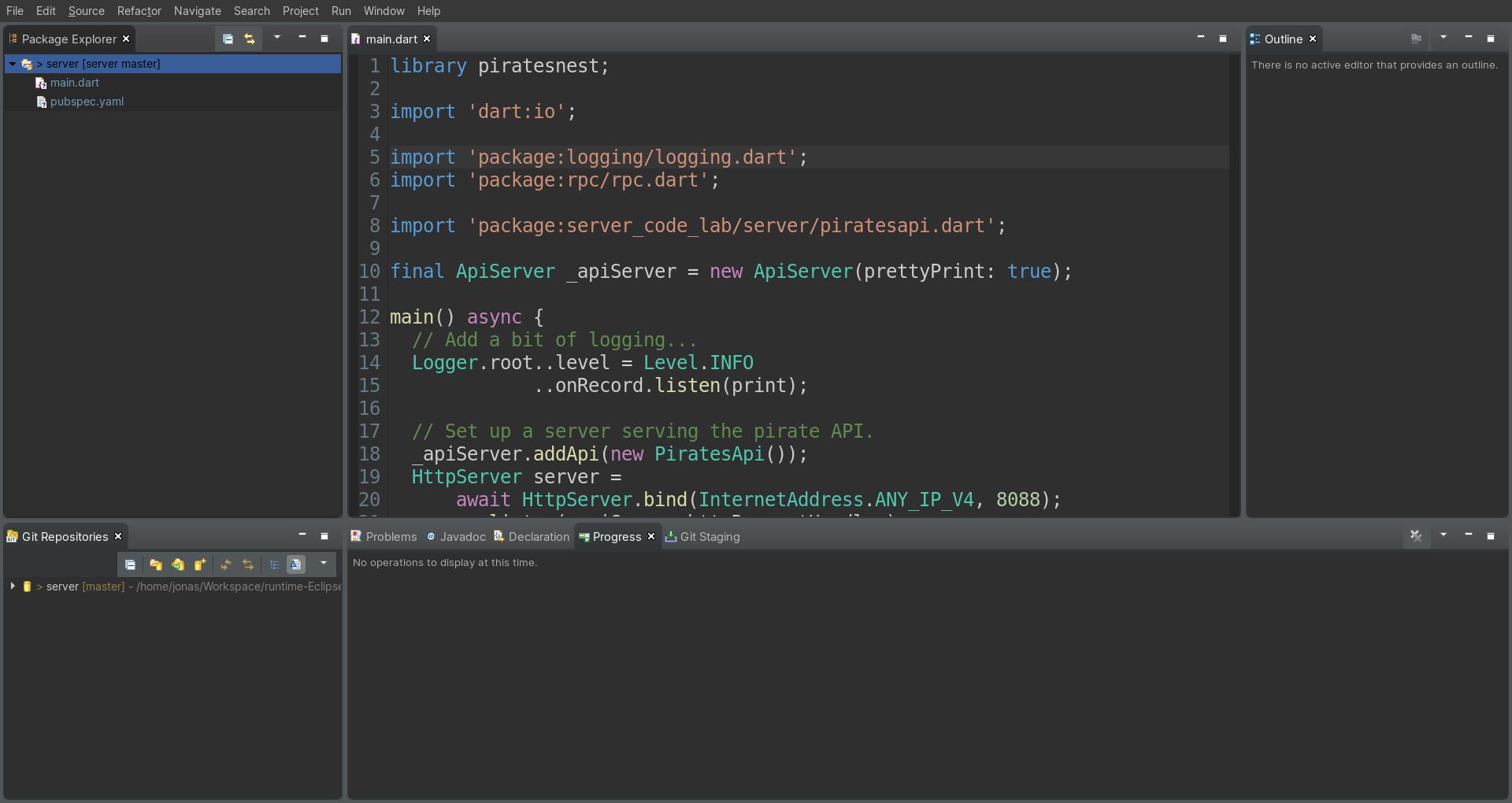 Dart Plugin for Eclipse | Eclipse Plugins, Bundles and