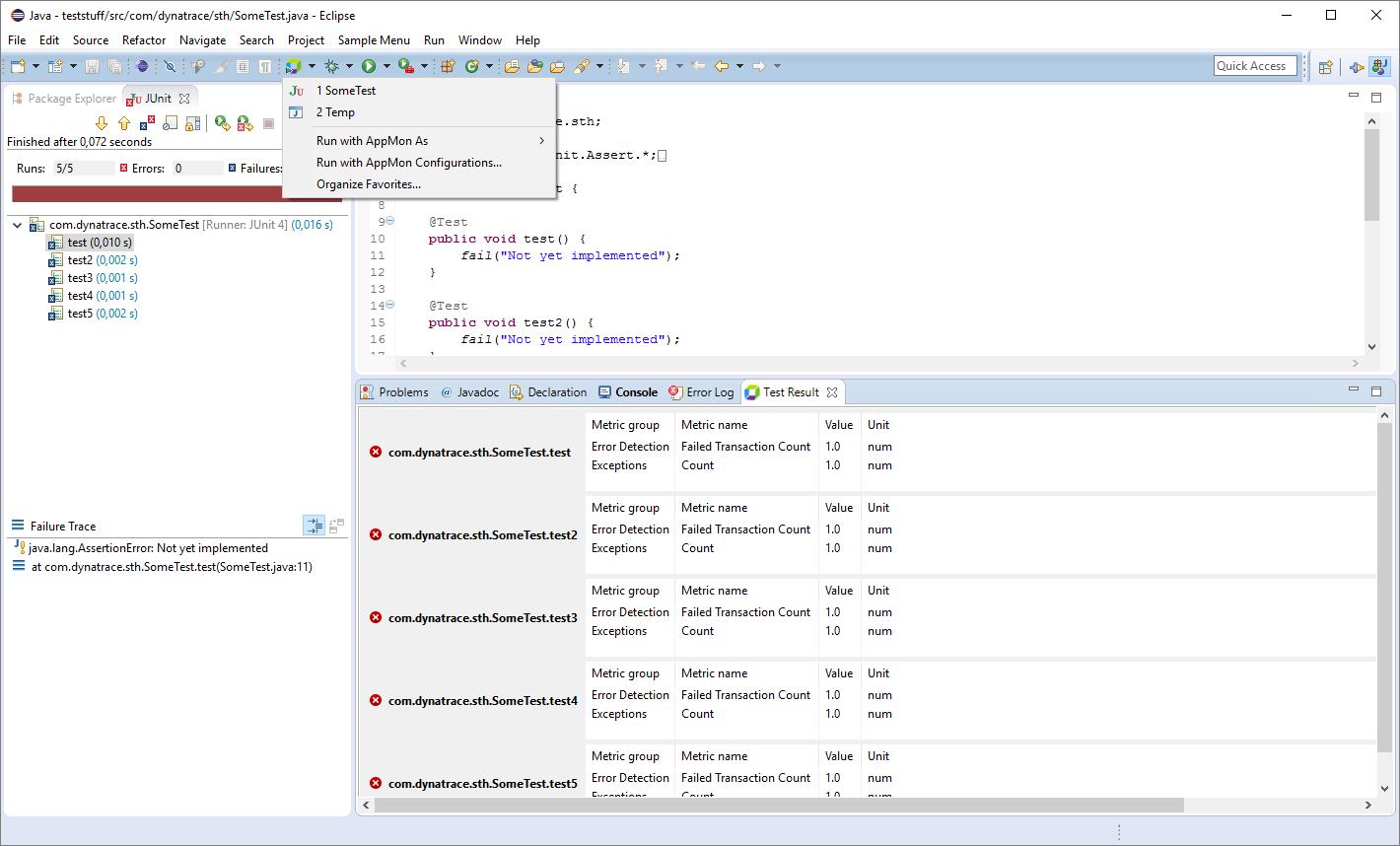 Dynatrace Eclipse Integration Plugin | Eclipse Plugins, Bundles and