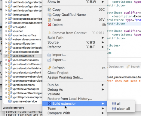 SAP Hybris merce Development Tools for Eclipse #1: buildsingleextension itok=hTb5Zt2H