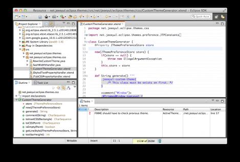 Jeeeyul's Eclipse Themes   Eclipse Plugins, Bundles and