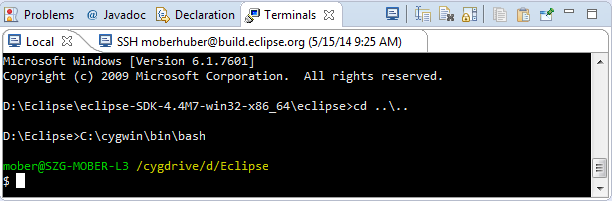 TM Terminal | Eclipse Plugins, Bundles and Products - Eclipse